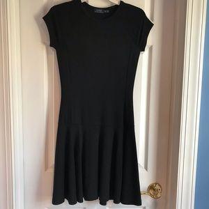 Ralph Lauren fitted black dress